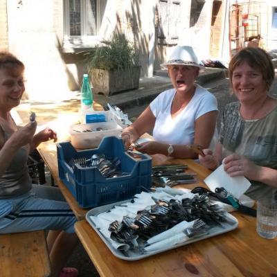 Saison 2015 : Cathy, Christine et Hélène