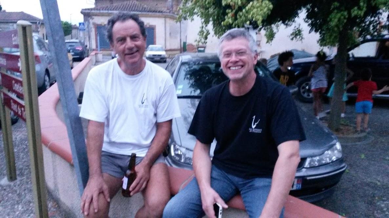Saison 2015 : La pause d'Alain et Eric