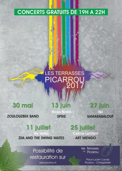 Affiche terrasses 2017